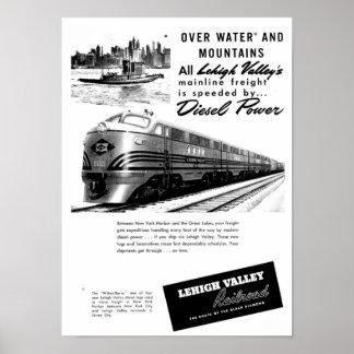 Ferrocarril del valle de Lehigh - nuevo poder dies
