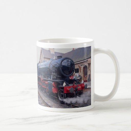 Ferrocarril del valle de Severn, locos en la estac Tazas