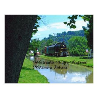 Ferrocarril del valle de Whitewater Plantillas De Membrete