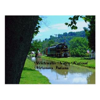 Ferrocarril del valle de Whitewater Tarjetas Postales
