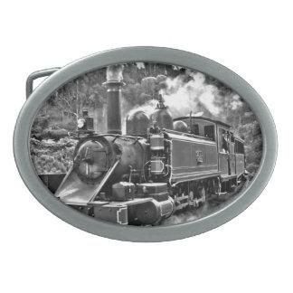 Ferrocarril del vapor del indicador estrecho del hebillas cinturon ovales