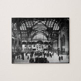 Ferrocarril del vintage de New York City de la est Puzzles Con Fotos
