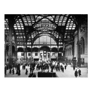 Ferrocarril del vintage de New York City de la Tarjetas Postales