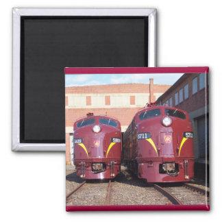 Ferrocarril E-8a, s (JTFS) 5809 y 5711 de Pennsylv Imán Cuadrado