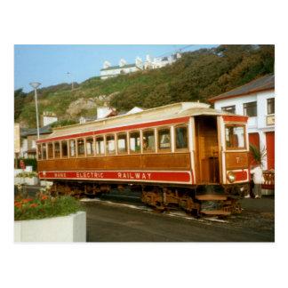 Ferrocarril eléctrico de la Isla de Man, isla del Postales