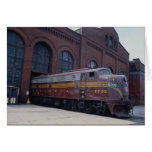 Ferrocarril EMD E-8 de Pennsylvania restaurado en  Tarjetas