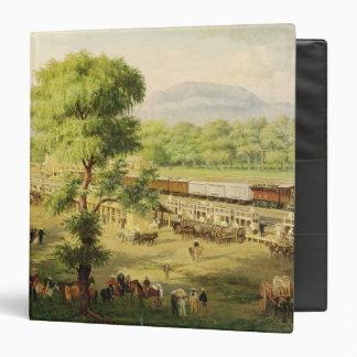 "Ferrocarril en el valle de México, 1869 Carpeta 1 1/2"""