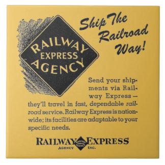 Ferrocarril expreso; Envíe las tejas de la manera