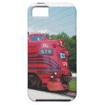 Ferrocarril F-7A #578 @ Cape May New Jersey del va iPhone 5 Cárcasas