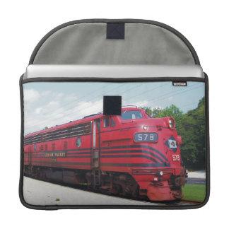 Ferrocarril F-7A #578 @ Cape May New Jersey del va Funda Para Macbook Pro