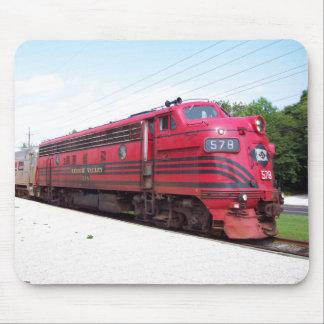 Ferrocarril F-7A #578 del valle de Lehigh en Cape  Tapete De Ratones