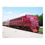 Ferrocarril F-7A #578 del valle de Lehigh en Cape Postales