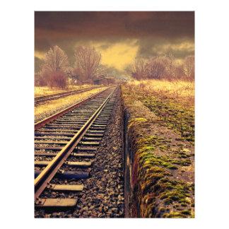 """Ferrocarril Folleto 8.5"""" X 11"""""""