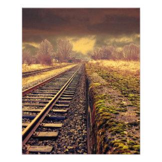 """Ferrocarril Folleto 4.5"""" X 5.6"""""""