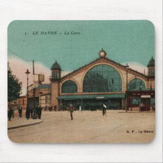 Ferrocarril Francia de Gare del La de Le Havre Alfombrilla De Ratón
