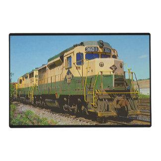 Ferrocarril GP-30 #3601 de la lectura Salvamanteles
