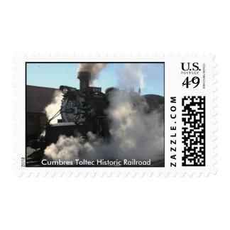 Ferrocarril histórico de Cumbres Toltec Timbre Postal