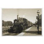 Ferrocarril histórico mantel