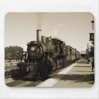 Ferrocarril histórico tapetes de raton