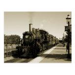 Ferrocarril histórico tarjetas postales