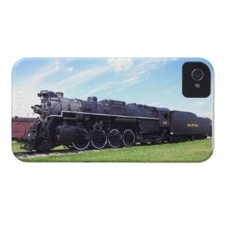 Ferrocarril locomotor #757 de la placa de níquel iPhone 4 Case-Mate carcasa