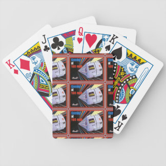Ferrocarril Metroliner de Pennsylvania PlayingCard Baraja Cartas De Poker