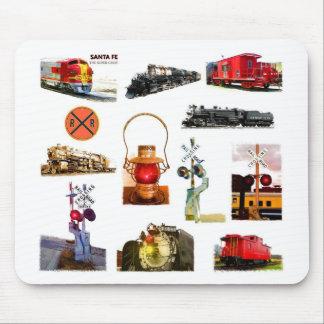 Ferrocarril Mousepad Tapete De Ratones