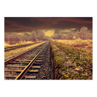 Ferrocarril Tarjetas De Visita Grandes