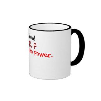 Ferrocarril, taza de café de F.R.F