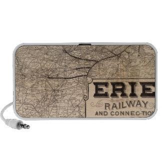 Ferrocarril y conexiones de Erie iPod Altavoces