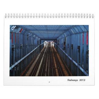 Ferrocarriles 2012 calendario