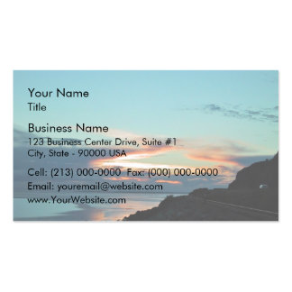 Ferrocarriles de la montaña rocosa tarjetas de visita