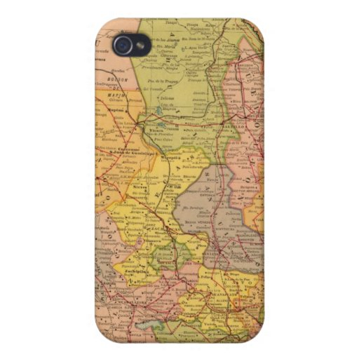 Ferrocarriles mexicanos iPhone 4 funda