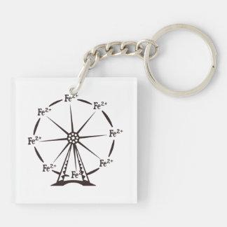 Ferrous Ferris Wheel Keychain