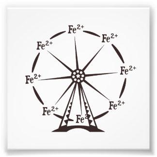 Ferrous Ferris Wheel Art Photo