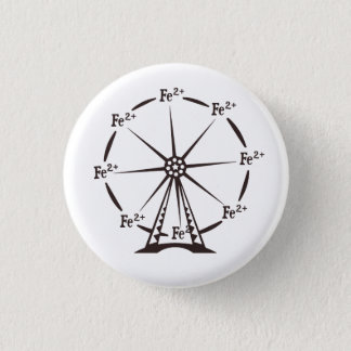 Ferrous Ferris Wheel Pinback Button