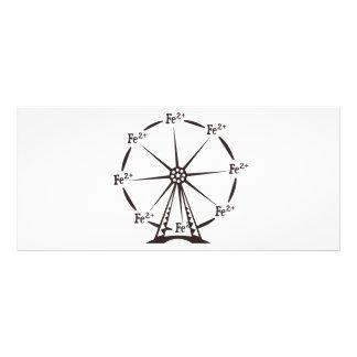 Ferrous Ferris Wheel Custom Rack Card