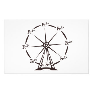 Ferrous Ferris Wheel Stationery