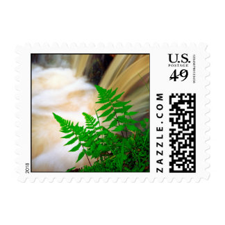 Ferrous thermal water postage stamp