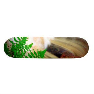Ferrous thermal water custom skateboard