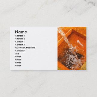 Ferrous water business card