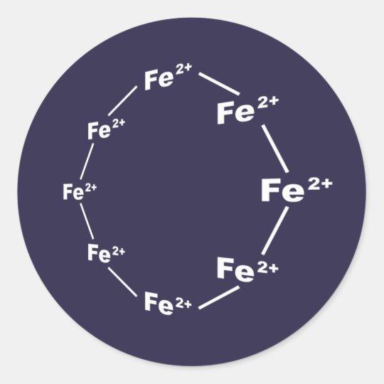 Ferrous Wheel Classic Round Sticker