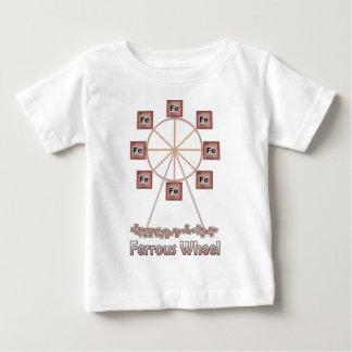 Ferrous Wheel Iron Chemistry Item Baby T-Shirt
