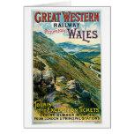 ~ ferroviario País de Gales de Great Western Tarjetón
