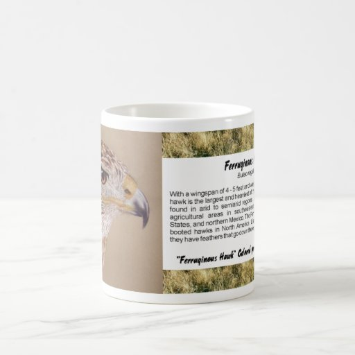 Ferruginous Hawk Classic White Coffee Mug