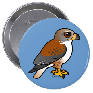 Ferruginous Hawk Pinback Button