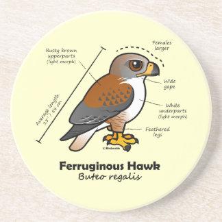 Ferruginous Hawk Statistics Coaster