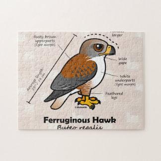 Ferruginous Hawk Statistics Jigsaw Puzzle
