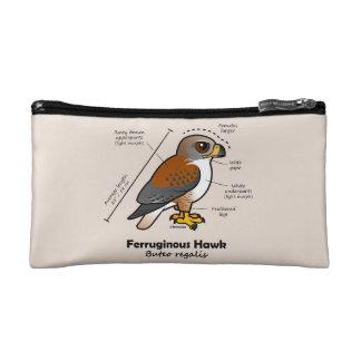 Ferruginous Hawk Statistics Makeup Bag