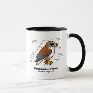 Ferruginous Hawk Statistics Mug